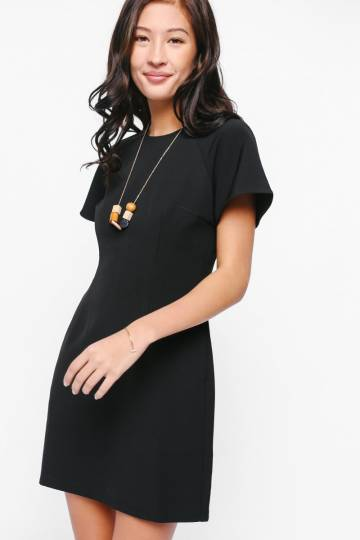 Reya Flare Sleeve Dress