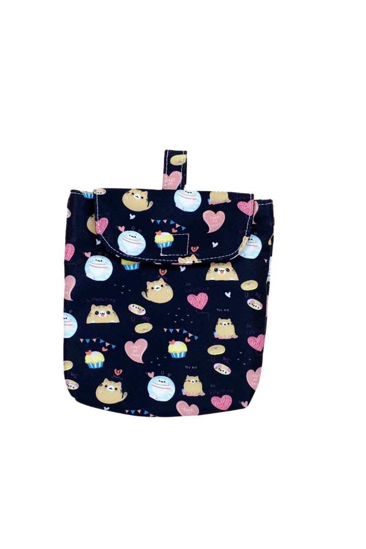 Cupcake Kitty Pouch