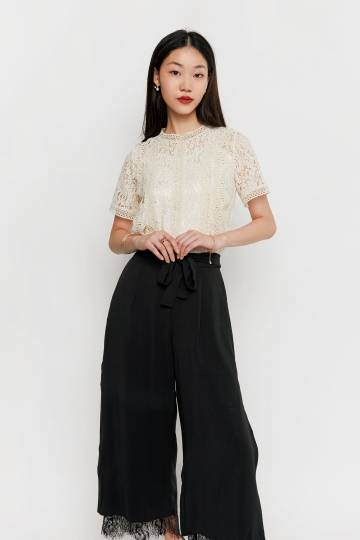 Meryle Lace Top