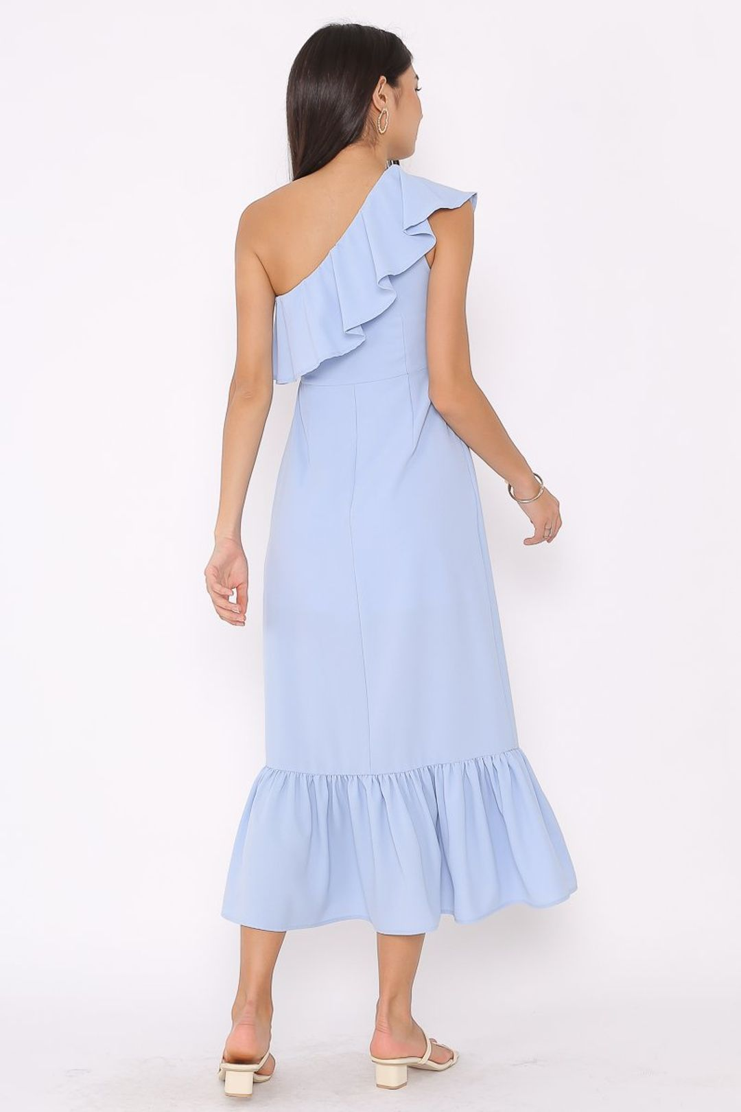 TABITHA TOGA MAXI DRESS (BABY BLUE)