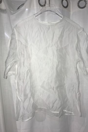 Sheer Over Blouse White