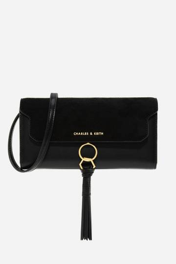 Tassel-Detail Wallet