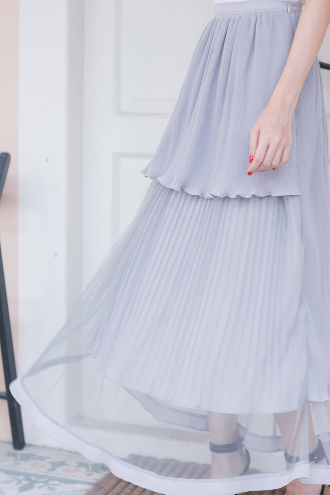 Pleats And Muse Maxi Skirt