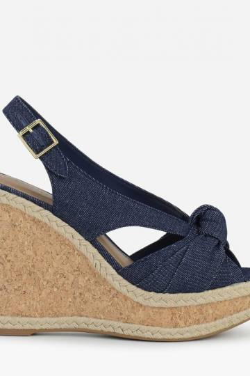 TIE KNOT DETAIL WEDGES