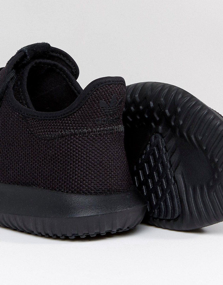 info for 0822b c9804 adidas Originals Tubular Shadow Trainers In Black CG4562 ...