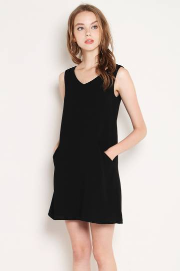 Larkin Dress Black