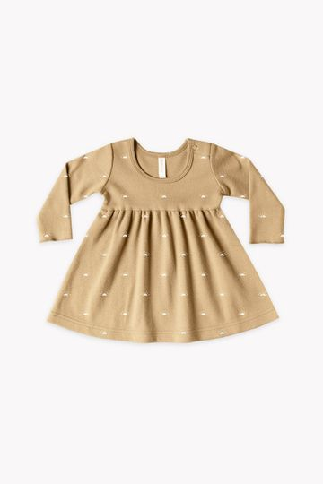 Longsleeve Baby Dress | honey