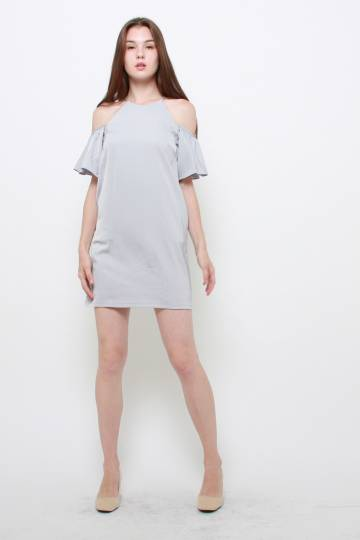 Wilma Cold-shoulder Dress