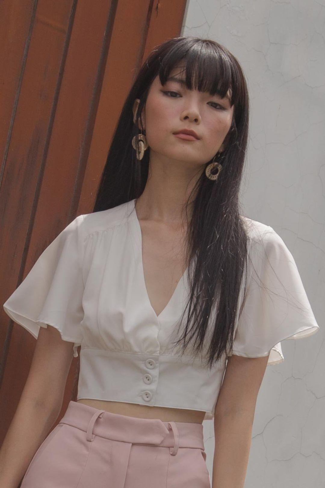 Femme Fatale Top in White