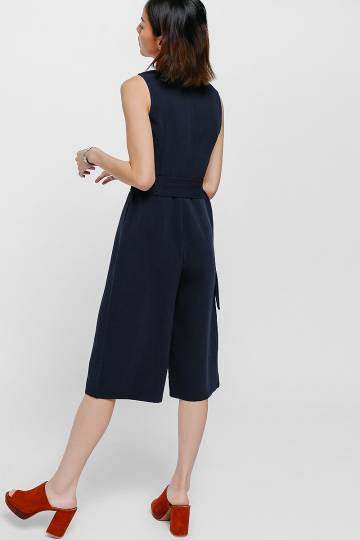 Joleigh Belted Midi Jumpsuit
