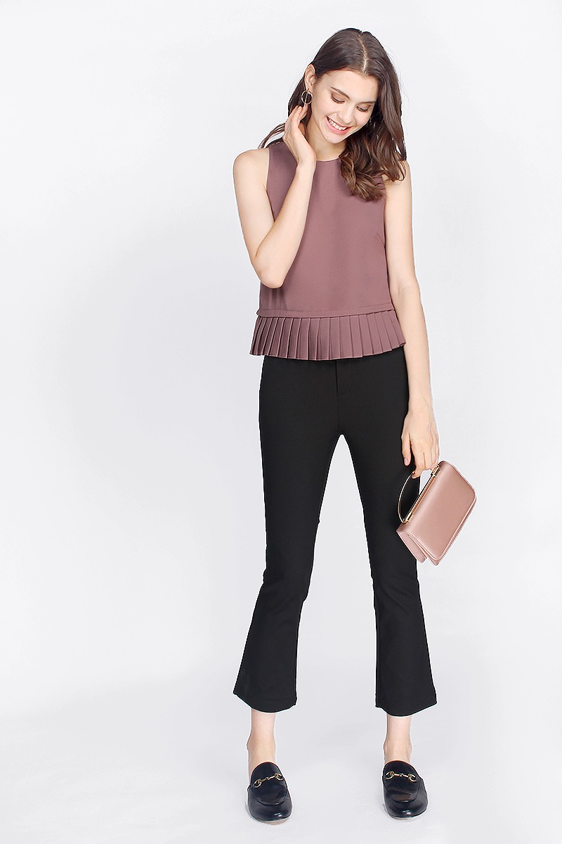 Bella Pleated Top