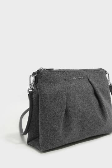 Top Zip Sling Bag