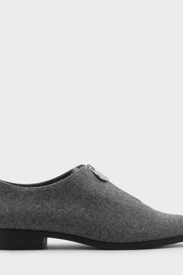 Zip Detail Loafers