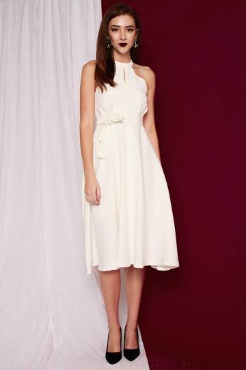 PREMIUM MaryJane Midi Dress in White [S/M/L] - *RESTOCKS*