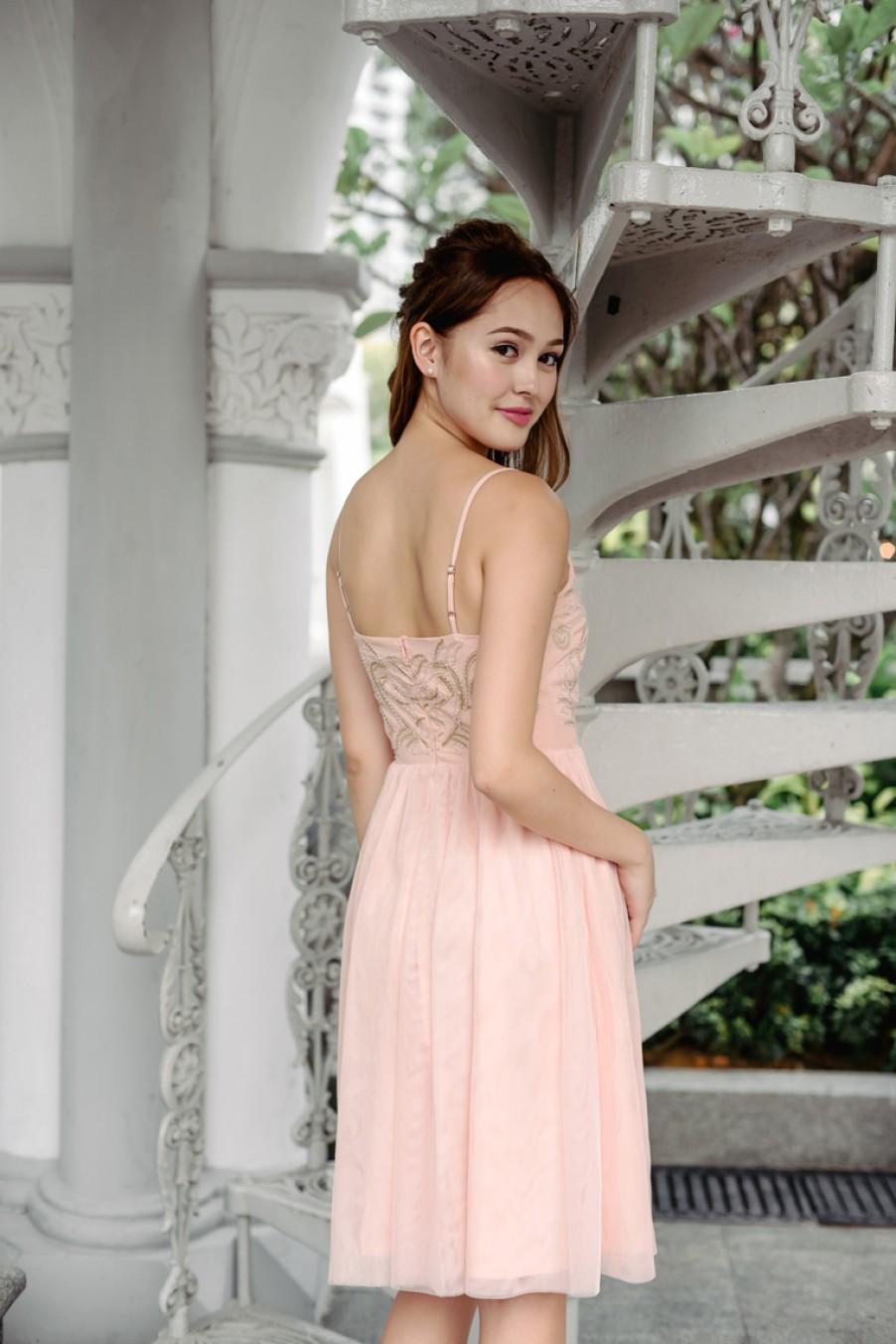 Ballet Under The Stars Dress (Pastel Peach)