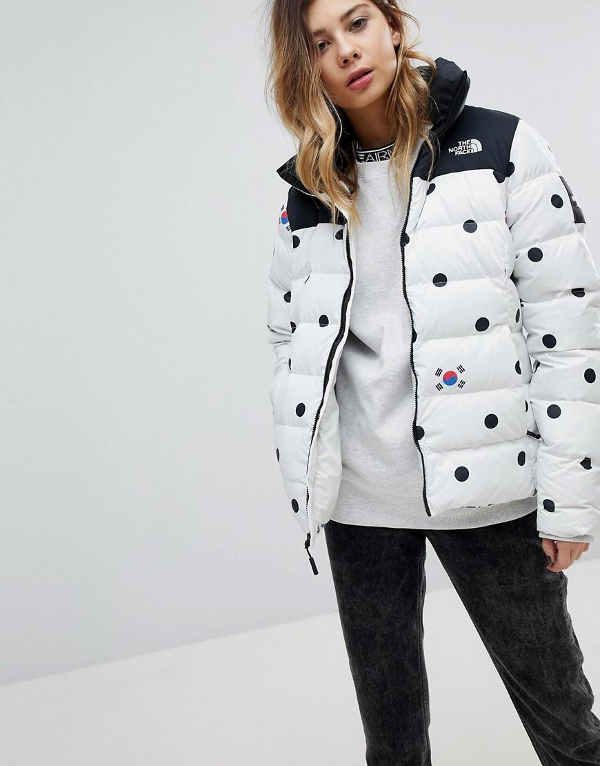ec4123b9d The North Face Winter Olympics Dot Print Padded Jacket - ShopperBoard