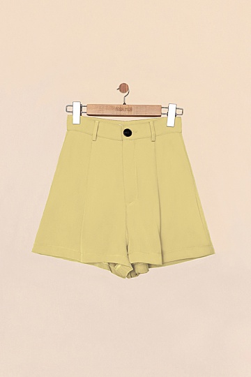 GABE SHORTS IN MELLOW YELLOW