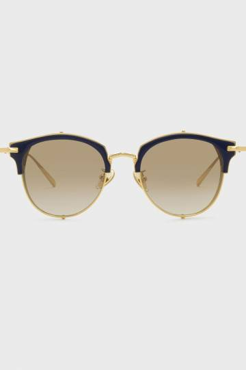 Oval Acetate Sunglasses