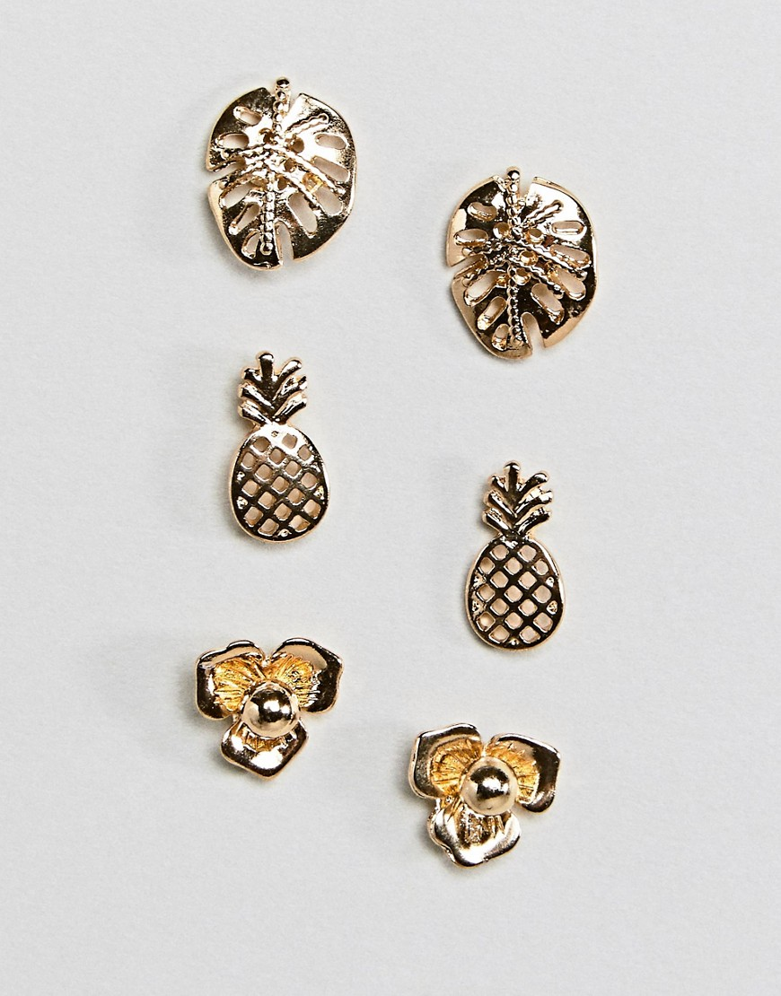 studs earrings pineapple stud tillydoro collections