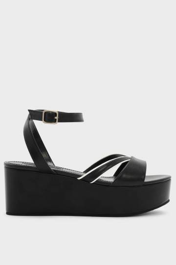 Ankle Strap Flatform Wedges