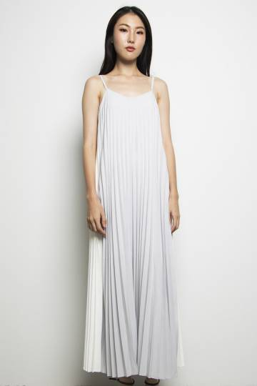 Positano Colour Block Maxi Grey