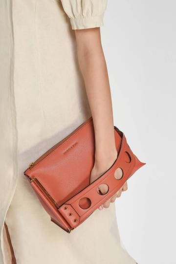 Cut Out Detail Clutch