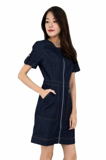Lizie Denim Dress