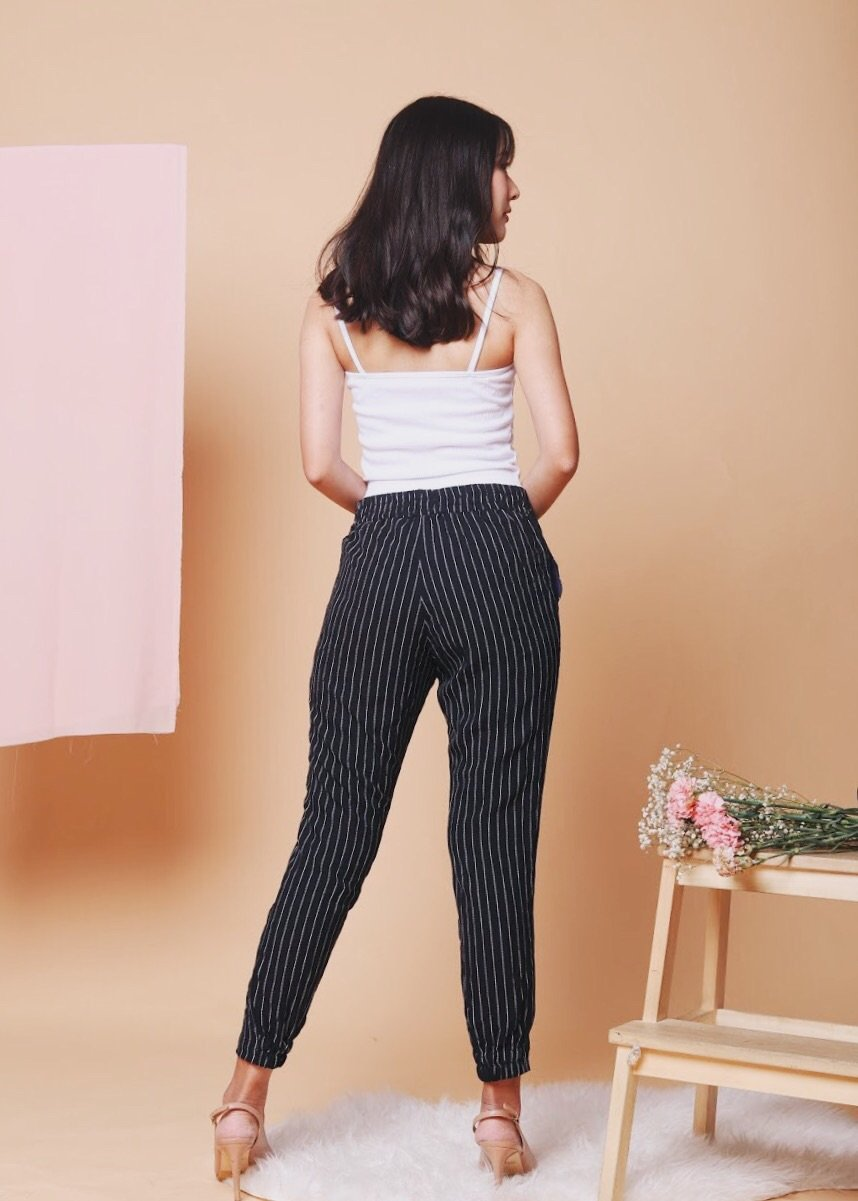 Melina Striped Pants