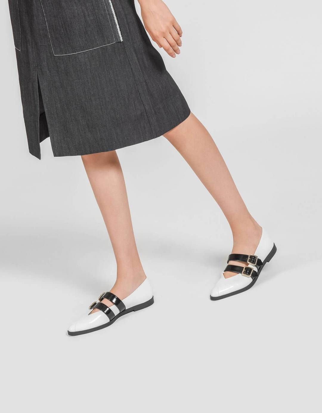 Double Strap Mary Jane Flats