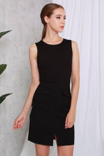 Olivie Workdress Black