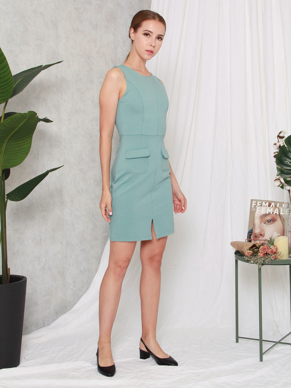 Olivie Workdress Jade