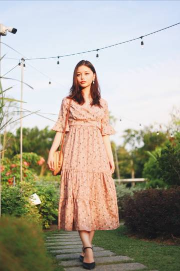 Trixie Maxi Dress in Pink