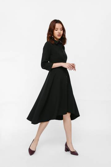 Datrishe Asymmetrical Shirt Dress