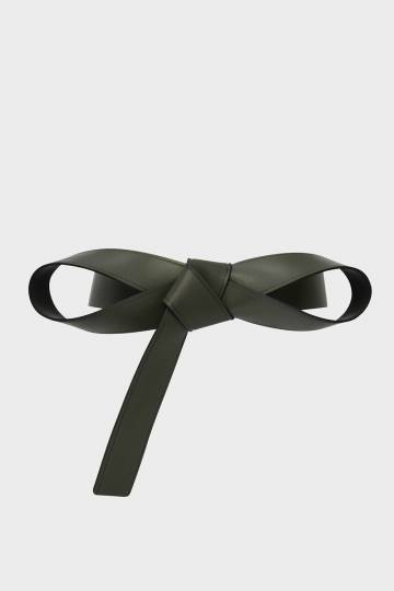 Knotted Bow Belt