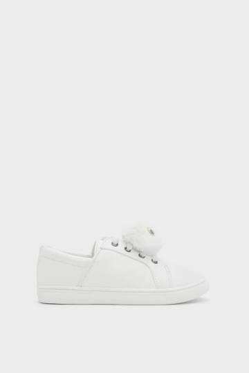 Kids Pom Pom Sneakers