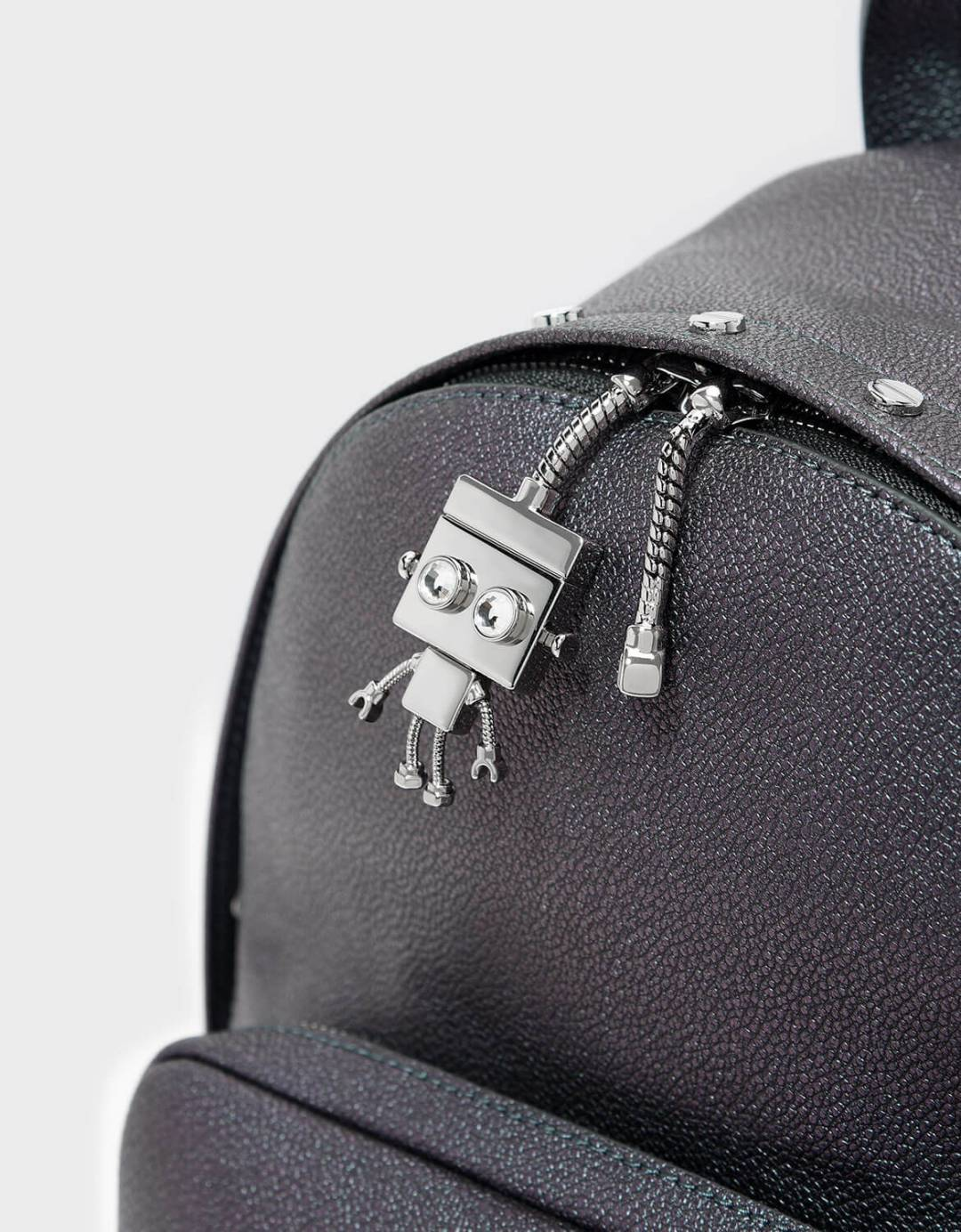 Robot Charm Backpack