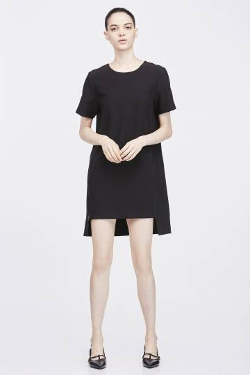 DRESS WITH SIDE ZIPS