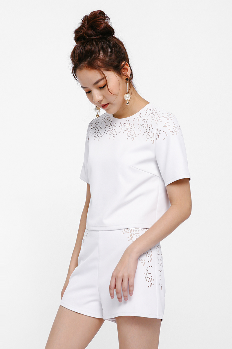 Athens Laser-cut Top