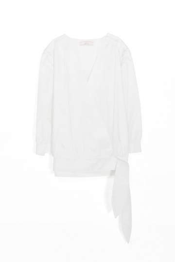 WRAPOVER BLOUSE