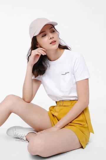 Wanderer Slogan Pocket T-shirt