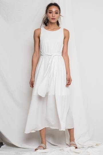 Audrey Maxi in White