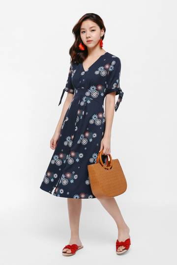 Julep Printed Midi Dress