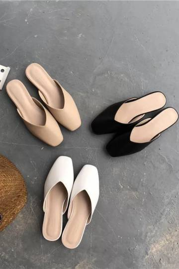 [BO] Square Mules ( 3 colours)
