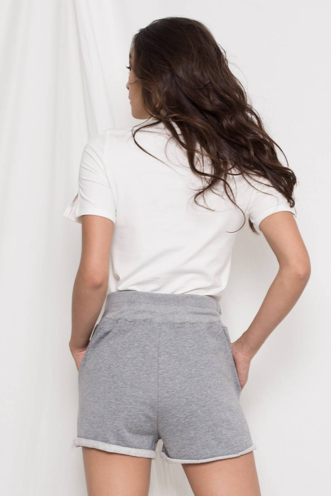 Snooze Button Shorts in Grey