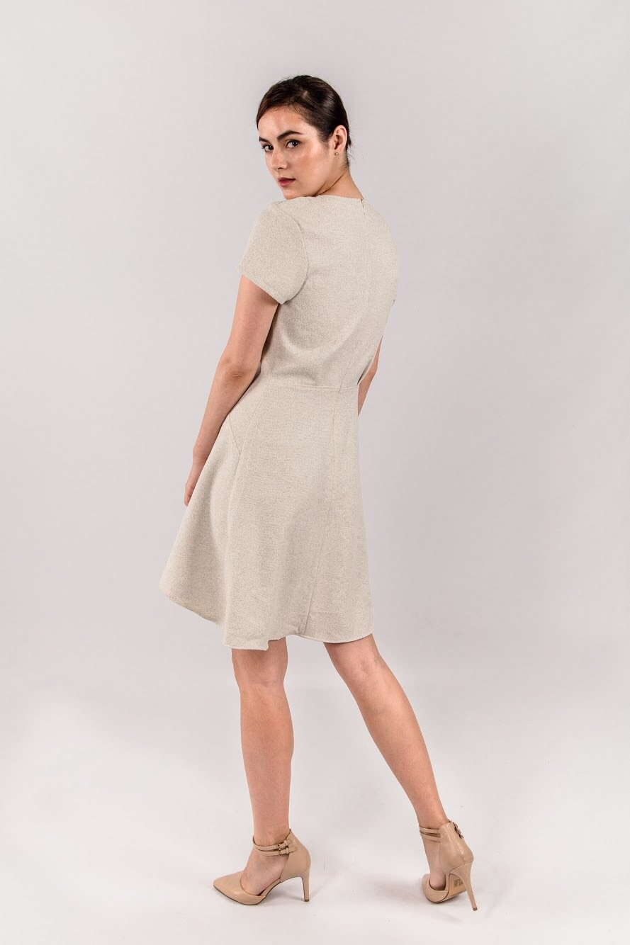 CHLOE TWEED DRESS