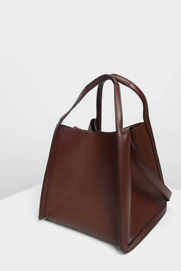 Tailored Oversized Tote Bag