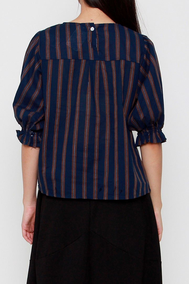 Yoru Stripe Blouse