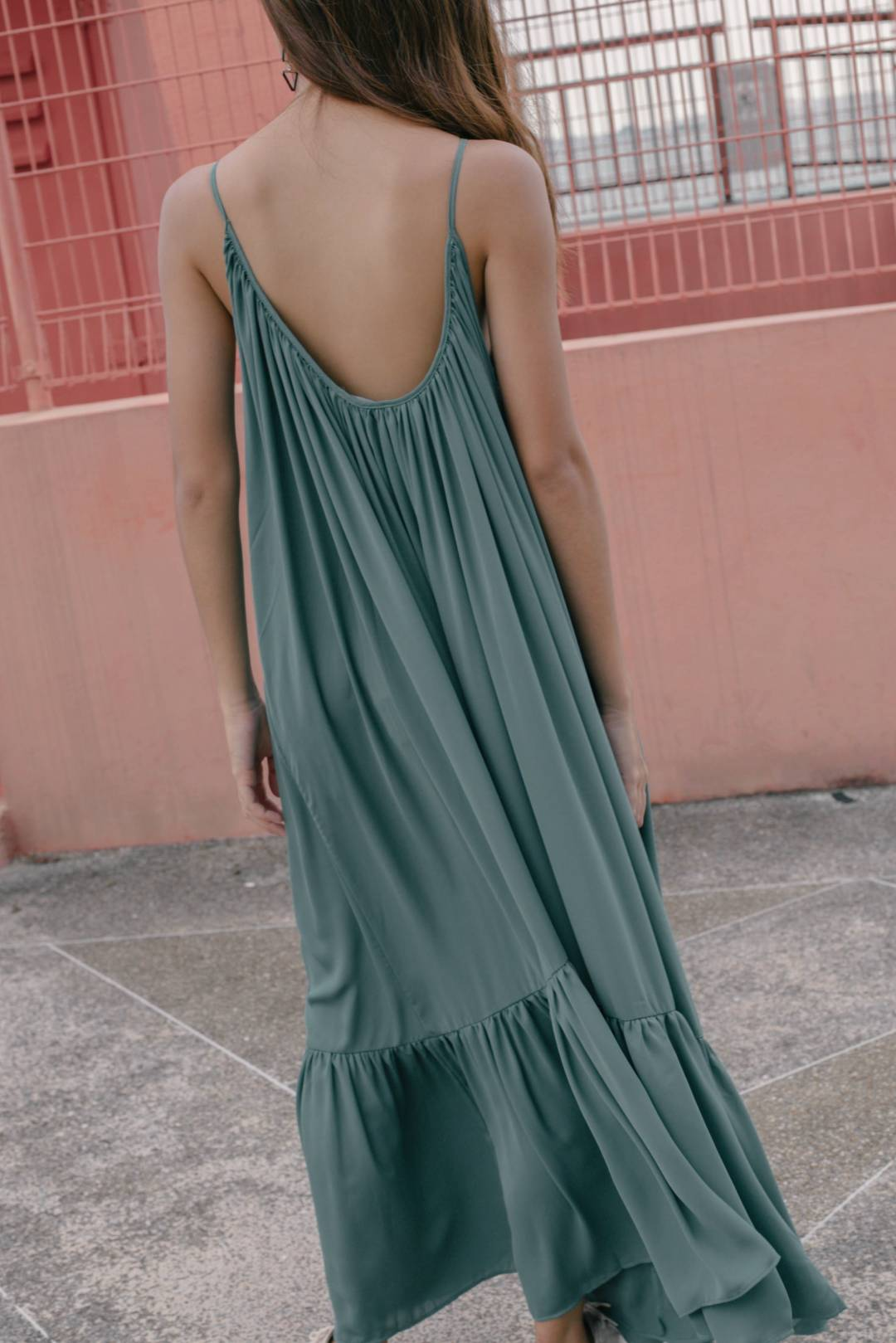 High Tide Maxi in Sage Green