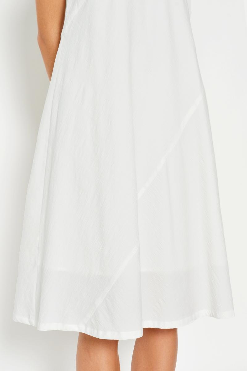 DAWSON MIDI DRESS WHITE