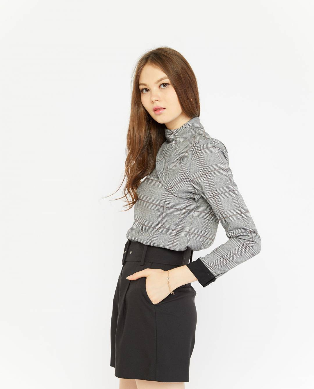 Zerin Belted Shorts